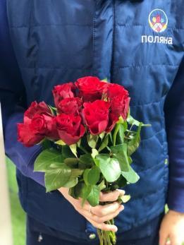Роза Красная от 10 шт Кения