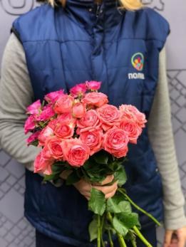 Роза Кустовая от 10 шт