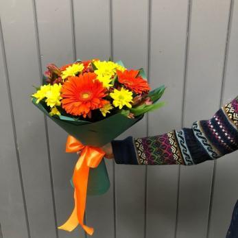 Букет Оранжевая осень